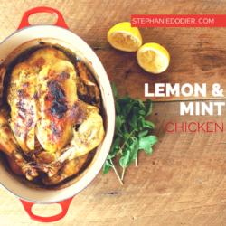 healthy roasted chicken recipe