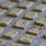 Cracker Recipe: Rosemary and Sea Salt Crackers