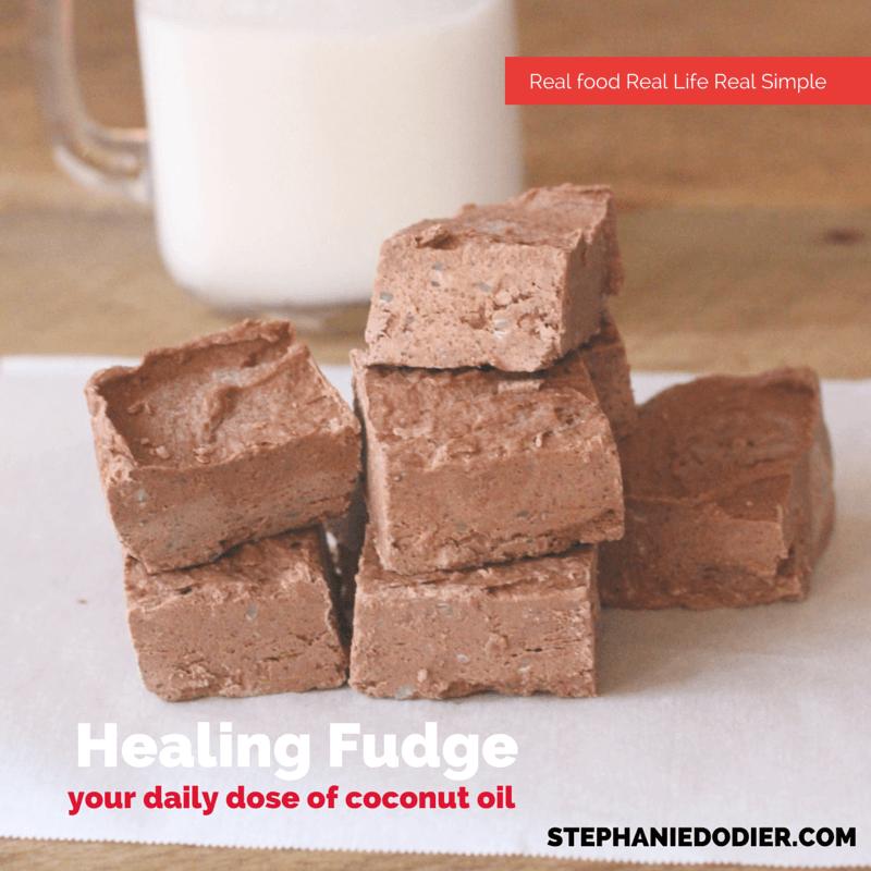Super healthy fudge recipe