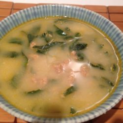portuguese green soup recipe