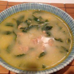 portuguese green soup recipe