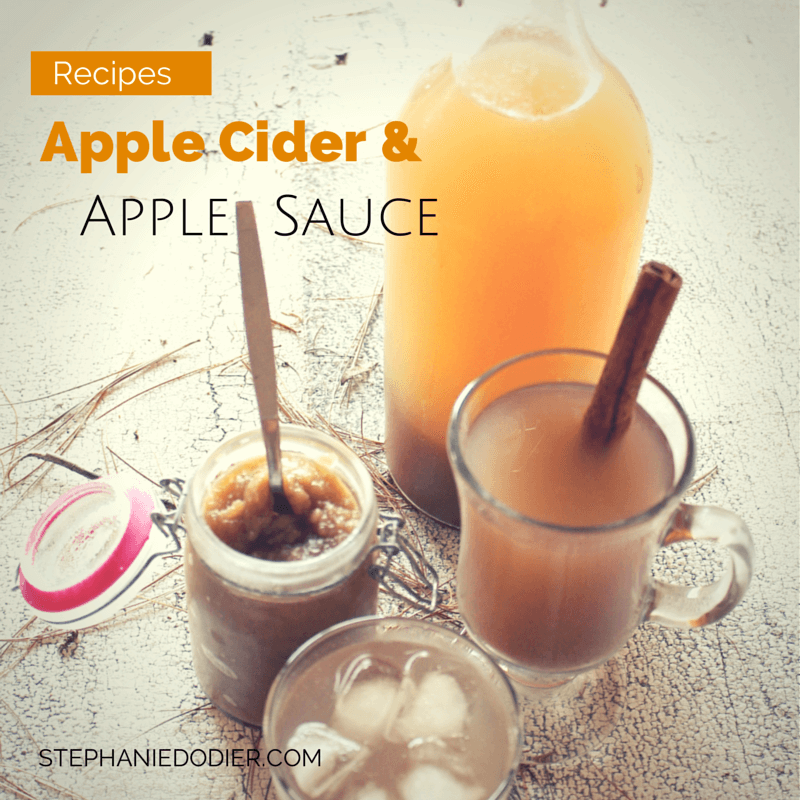 healthy homemade apple cider recipe