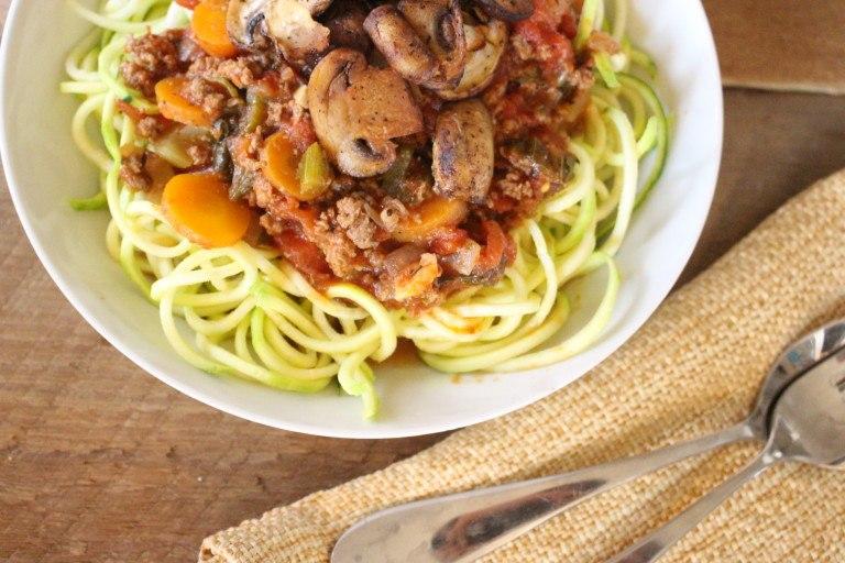 low carb spaghetti sauce recipe