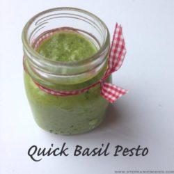 healthy pesto recipe