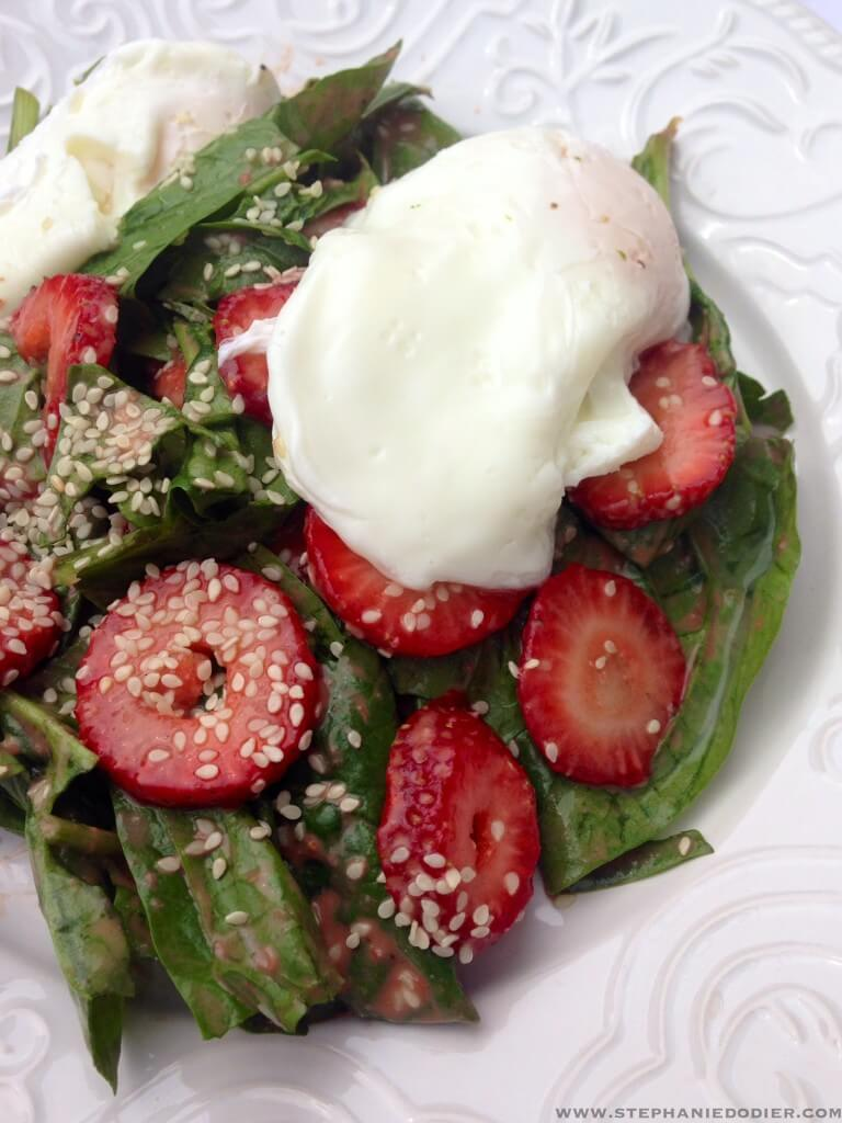 strawberry dressing for salad