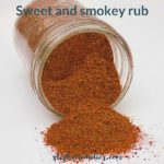 Healthy Chicken Rub Recipe: Sweet and Smokey!