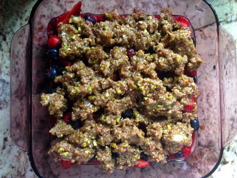 healthy crumble recipe