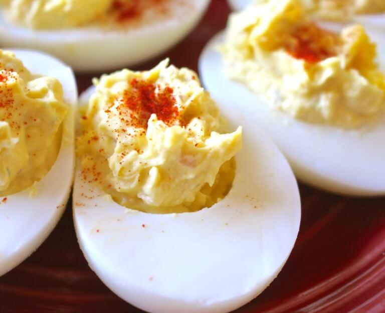 healthy deviled egg recipe