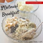 Healthy Oatmeal Recipe Without the Oatmeal: The N'Oatmeal Breakfast