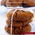 Healthy Chewy Molasses Cookie Recipe: Delicious!