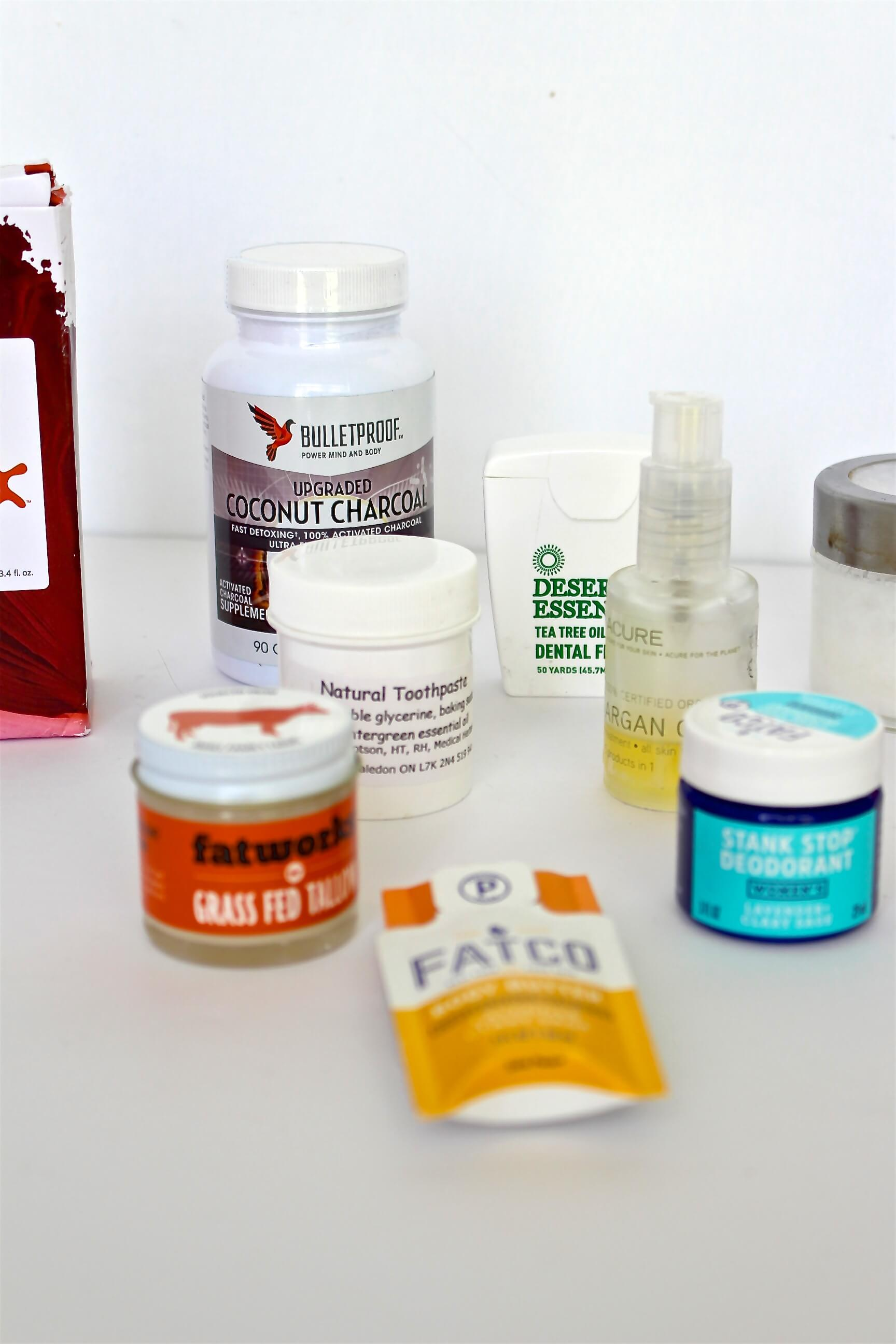 Options for natural skin care routine
