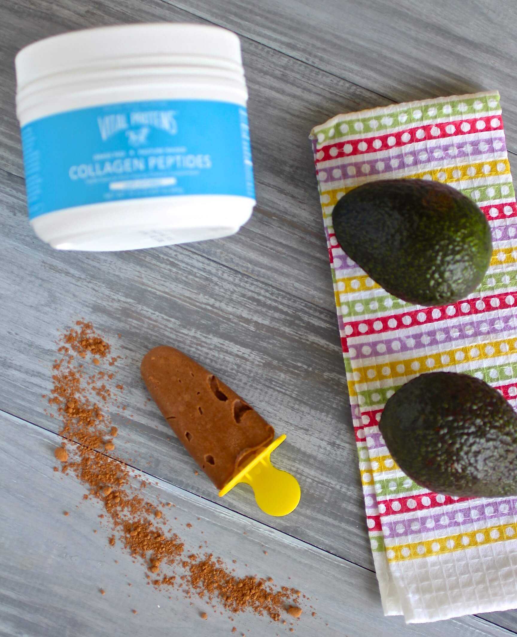 healthy chocolate popsicle recipe