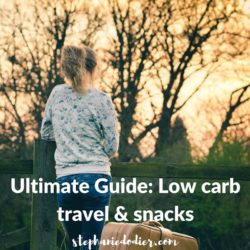healthy low carb travel food ultimate guide
