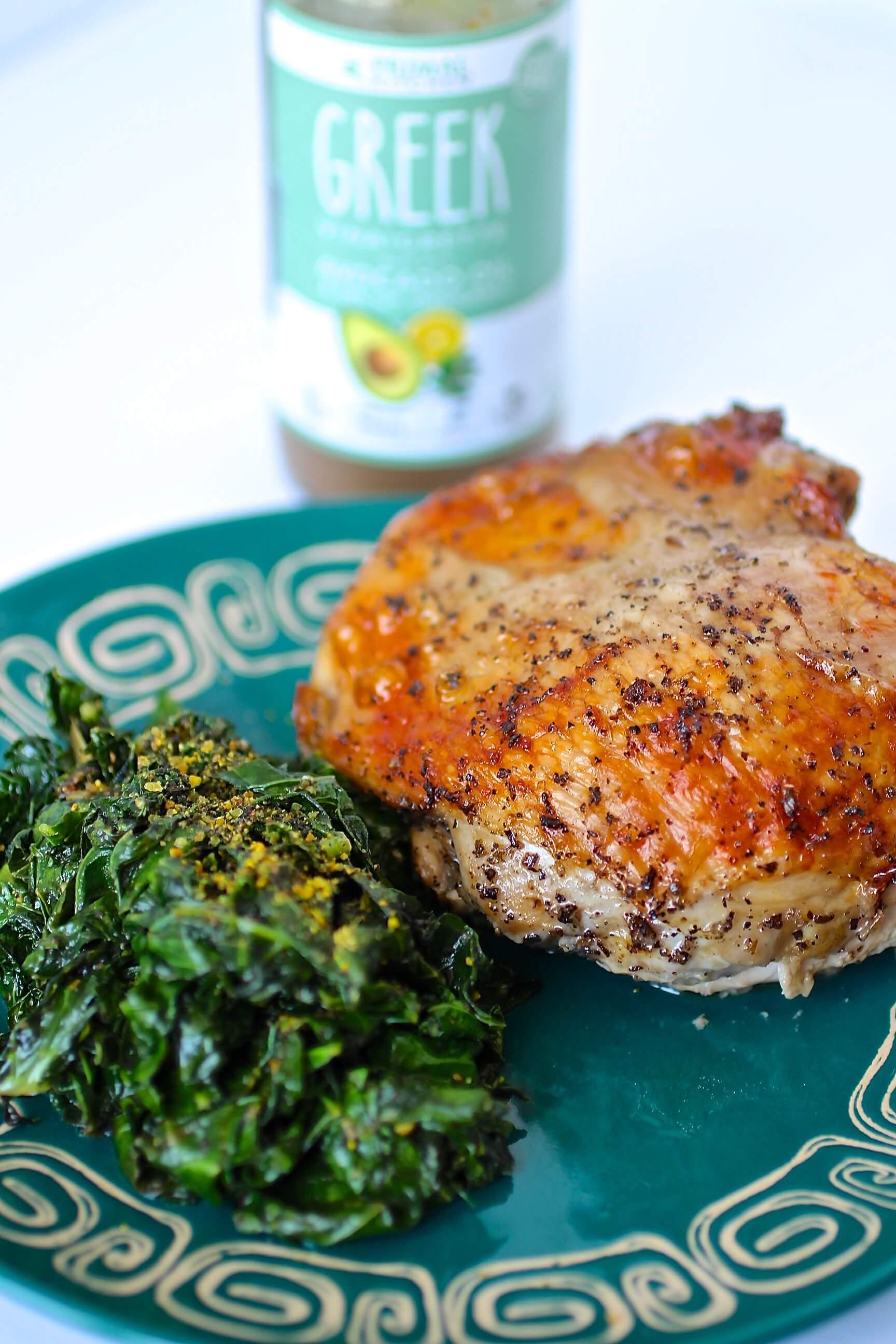low carb greek chicken recipe