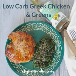 low carb greek chicken recipe