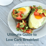 Low carb breakfast recipe