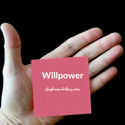 How to increase your will power