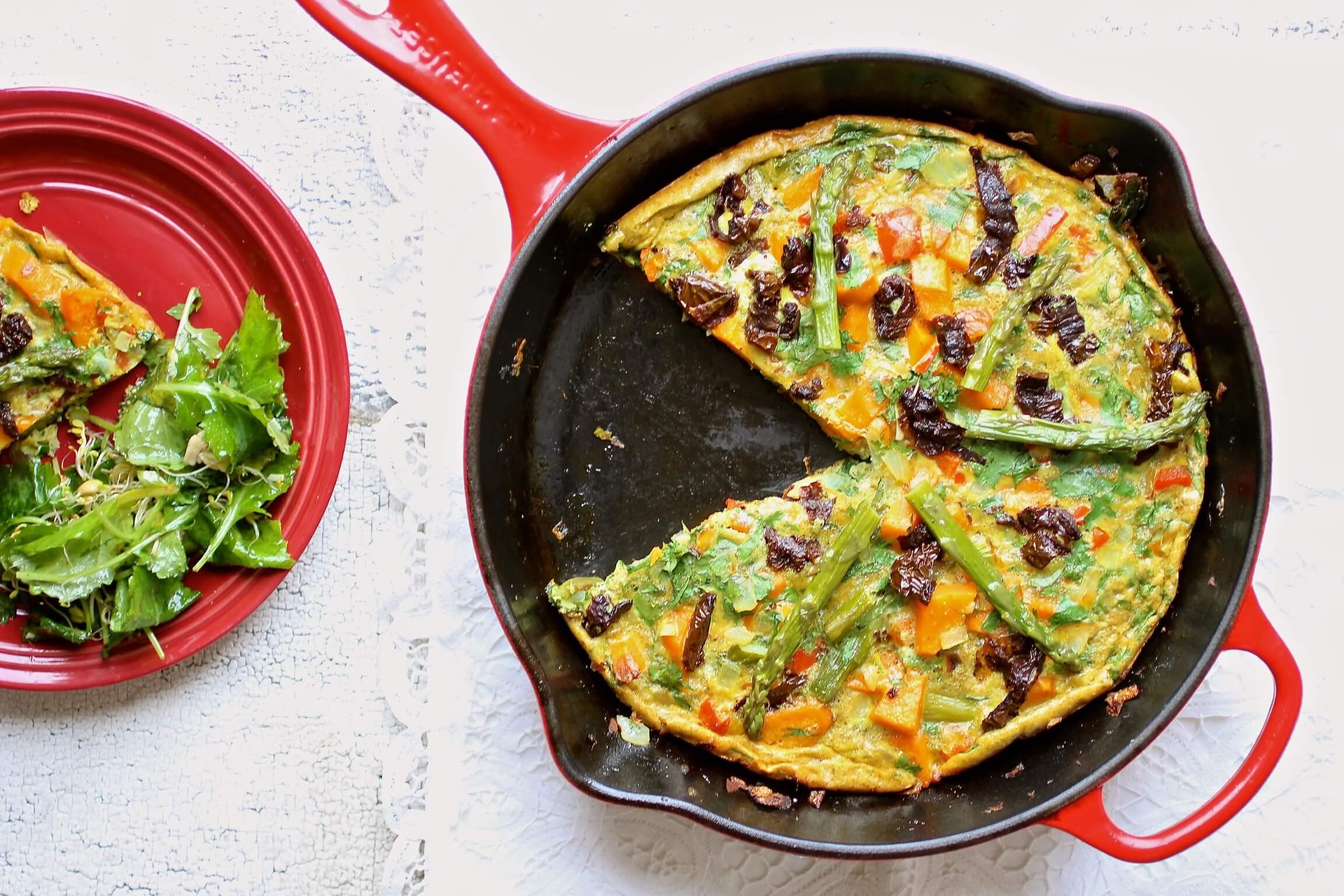 healthy frittata recipe