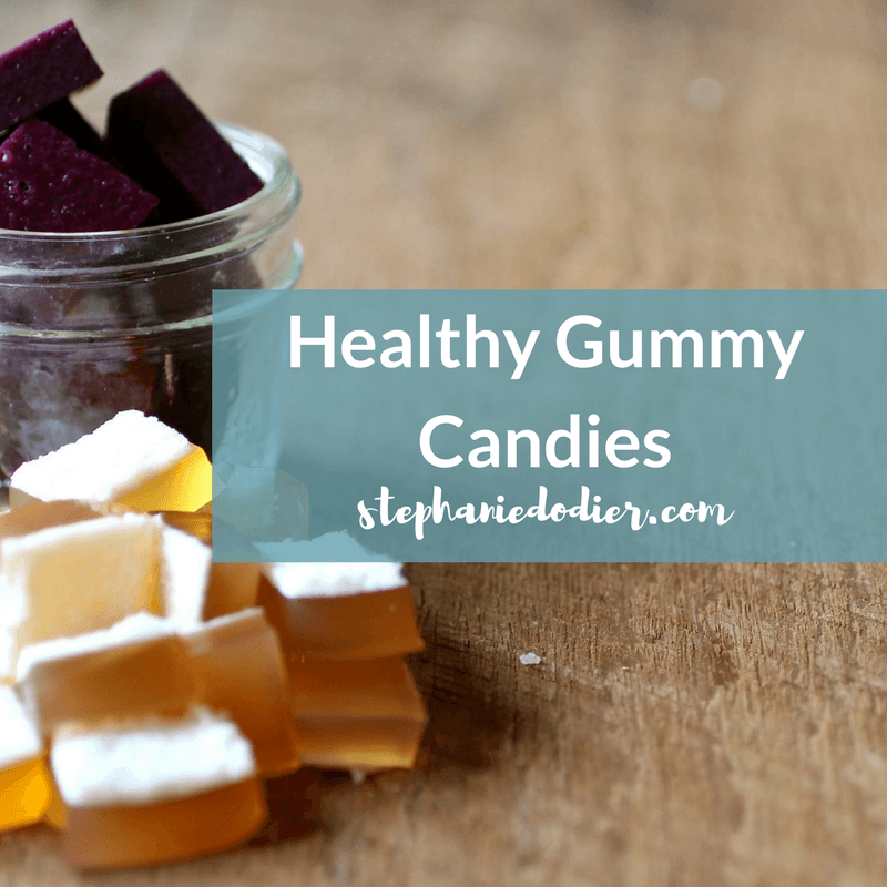 Healthy homemade gummies recipe