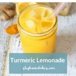 Anti Inflammatory Turmeric Lemonade Recipe
