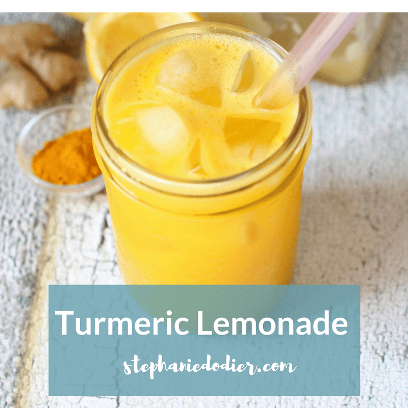 anti inflammatory turmeric lemonade recipe