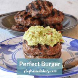 the perfect healthy hamburger recipe