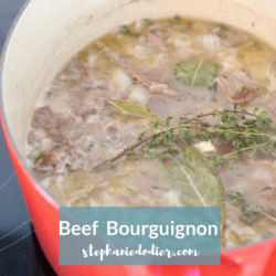 Easy Beef Bourguignon recipre