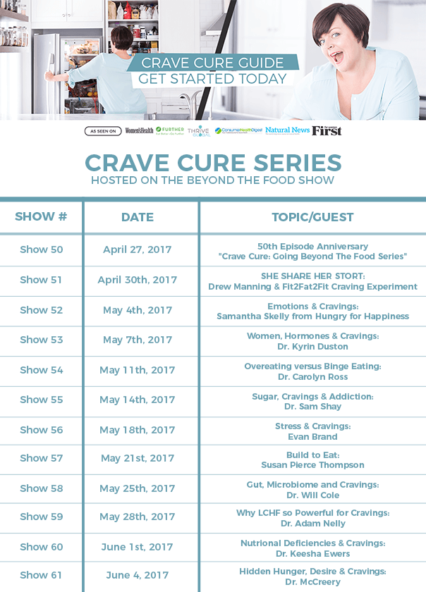 the crave cure series and guide