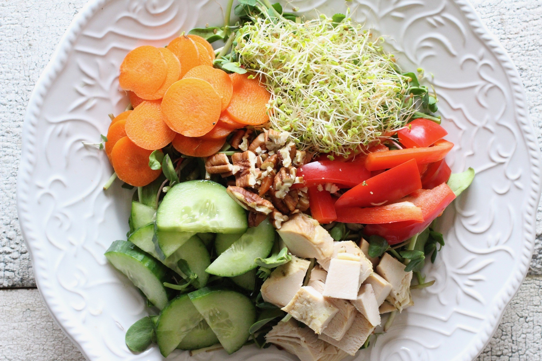 Cobb salad recipe with balsamic vinaigrette - 2