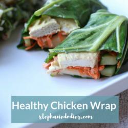 Healthy Curry Chicken Wraps Recipe