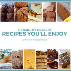 healthy dessert recipes title