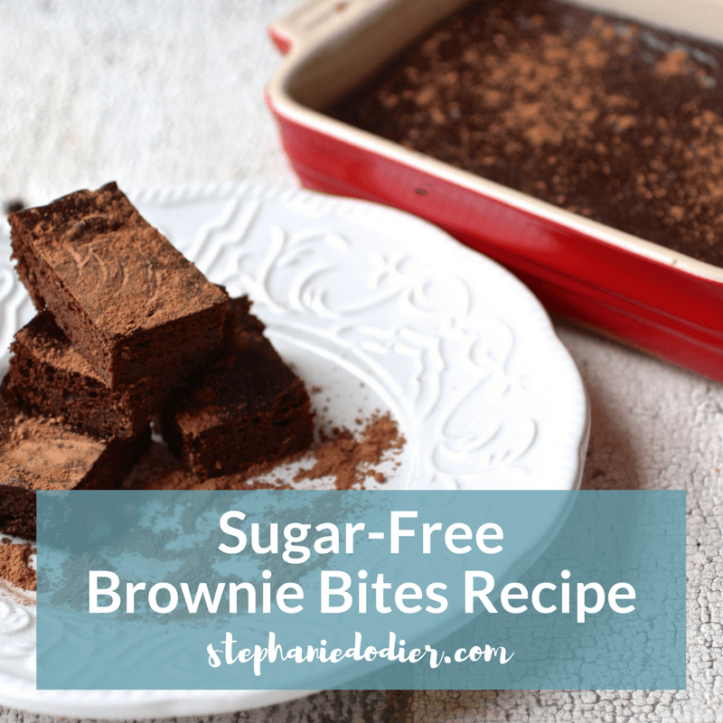 sugar-free brownie bites recipe