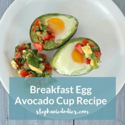 Breakfast Egg Avocado Cup Recipe - Title