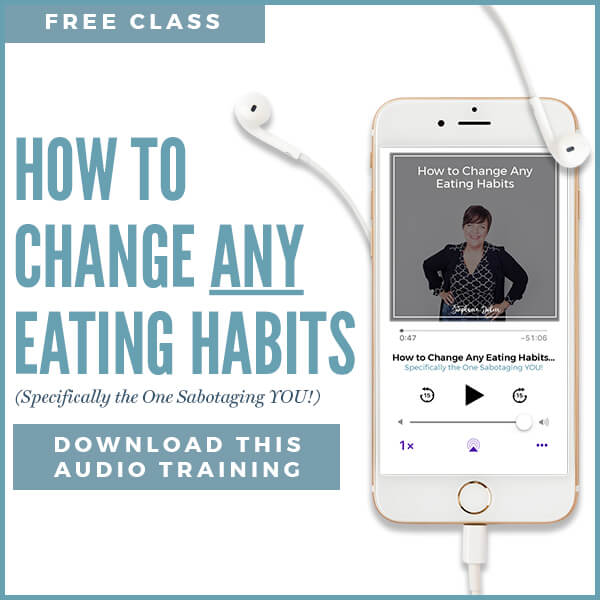 how to change any eating habits