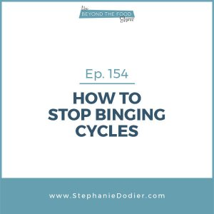 how to stop binging cycles