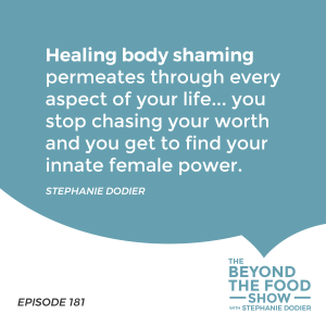 Healing Body Shaming-Stephanie Dodier