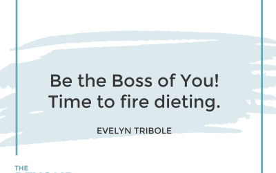 186-Be the Boss Of You-Intuitive Eating with Evelyn Tribole