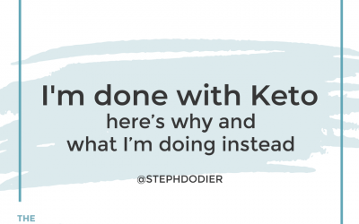 187: I'm Done with Keto – She's Beyond The Food Chapter 3