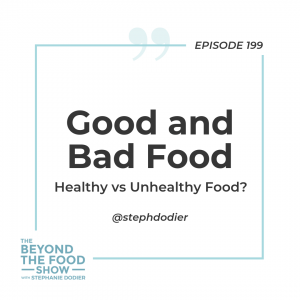 199-Good or Bad Food-Stephanie Dodier