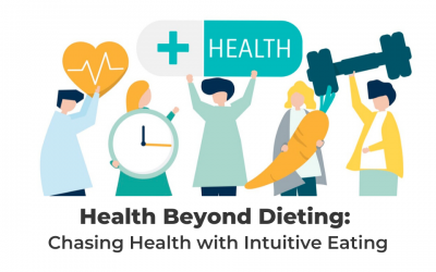 Health Beyond Dieting: Chasing Health With Intuitive Eating