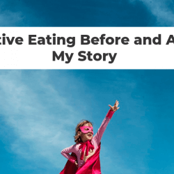 intuitive eating journey