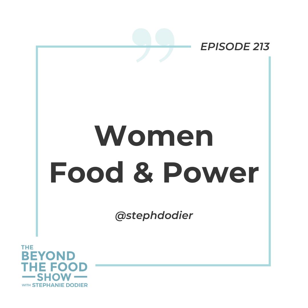 213-Women Food and Power -Stephanie Dodier
