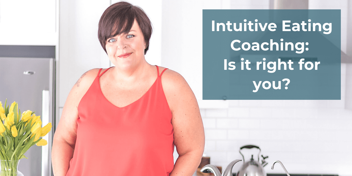 Intuitive Eating Coaching 1