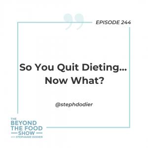 Quit Dieting