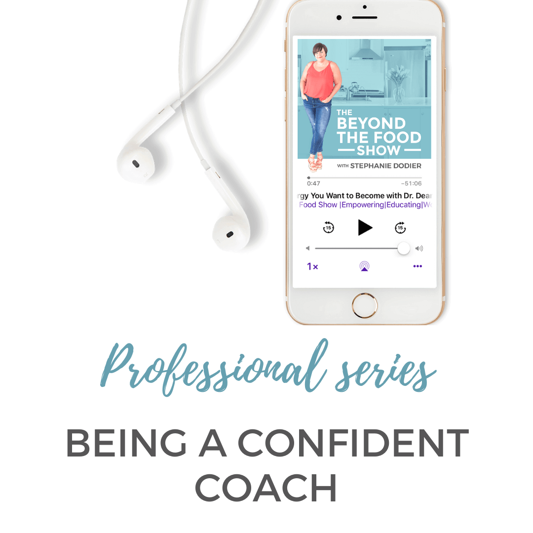 Being a confident non-diet coach