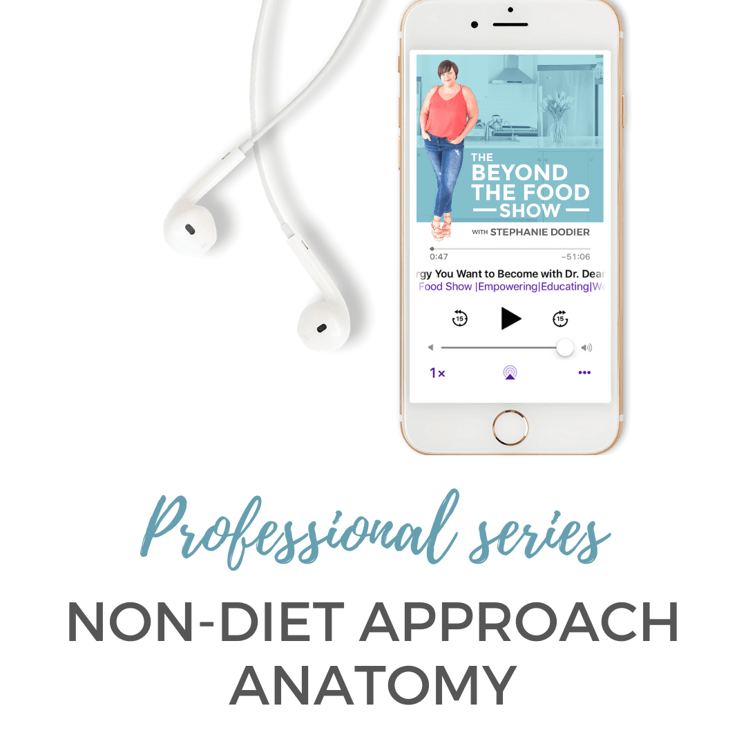 non-diet approach anatomy