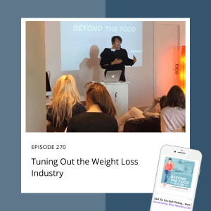 Tuning out the weight loss industry