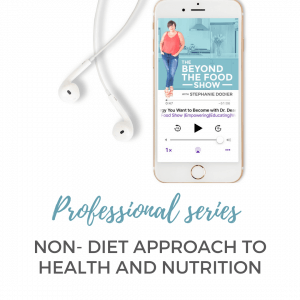 Non- Diet Approach to Health and Nutrition