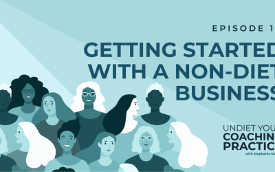 13-Getting Started with A Non-Diet Business