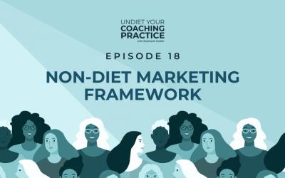 18-Framework of Non-Diet Marketing
